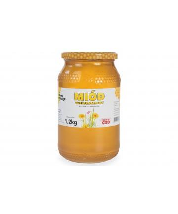 miód wielokwiatowy 1,2 kg