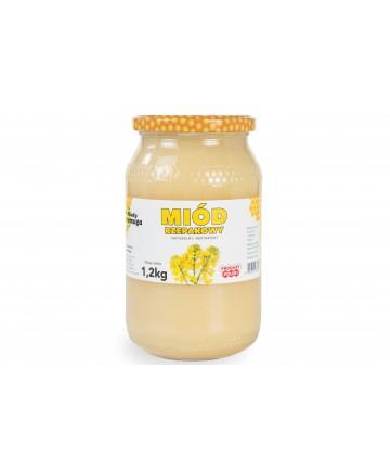 miód rzepakowy 1,2 kg