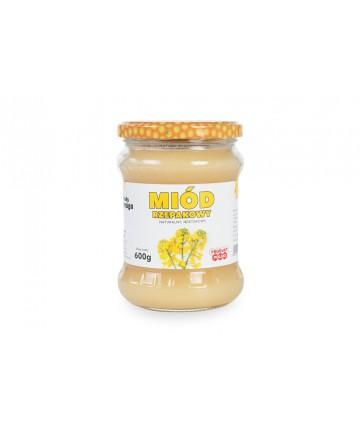 miód rzepakowy 0,6 kg