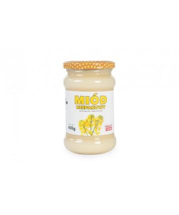 miód rzepakowy 0,4 kg